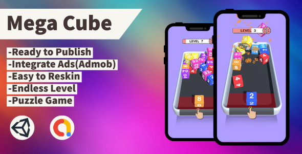 [Free Download] Mega Cube (Unity+Admob+Android+iOS) (Nulled) [Latest Version]