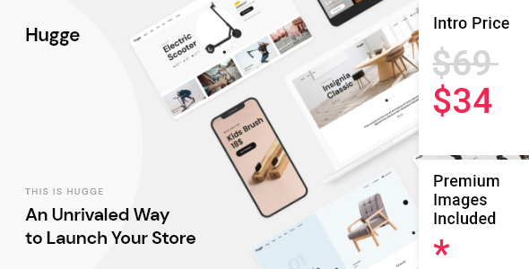 [Free Download] Hugge – Elementor WooCommerce Theme (Nulled) [Latest Version]