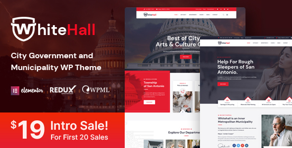 [Free Download] White Hall – Municipal and Government WordPress Theme (Nulled) [Latest Version]