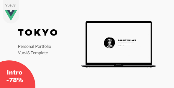 [Free Download] Tokyo – VueJS Personal Portfolio Template (Nulled) [Latest Version]