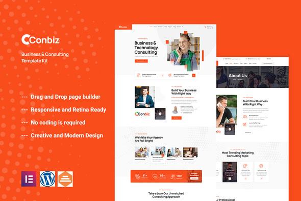 [Free Download] Conbiz – Consultancy & Business Elementor Template Ki (Nulled) [Latest Version]