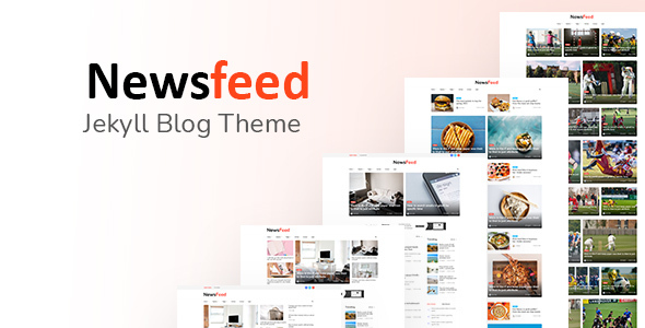 [Free Download] Newsfeed – Responsive News Magazine Bootstrap 5 Jekyll Theme (Nulled) [Latest Version]
