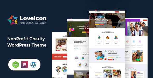[Free Download] LoveIcon – Nonprofit Charity Theme (Nulled) [Latest Version]