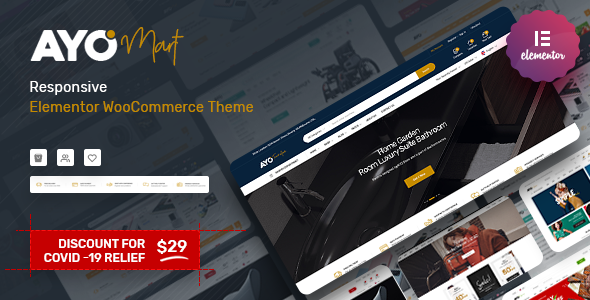 [Free Download] Ayo – Responsive Elementor WooCommerce Theme (Nulled) [Latest Version]