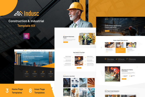 [Free Download] Indusc – Construction & Industrial Elementor Template Kit (Nulled) [Latest Version]