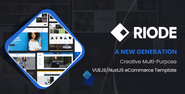 [Free Download] Riode – VueJS/NuxtJS eCommerce Template (Nulled) [Latest Version]