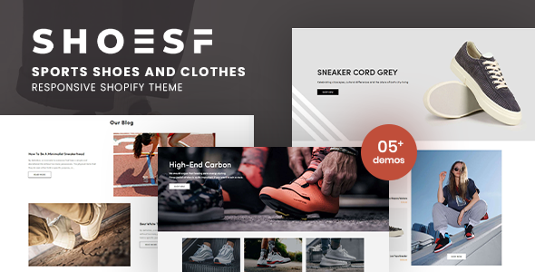 [Free Download] Shoesf – Running Sports Shoes Clothes Shopify Theme (Nulled) [Latest Version]