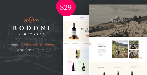 [Free Download] Bodoni – Wine Shop & Vineyard WooCommerce Theme (Nulled) [Latest Version]