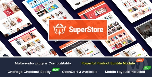 [Free Download] SuperStore v1. 0. 2-Multi-purpose OpenCart 3 template (Nulled) [Latest Version]