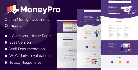 [Free Download] MoneyPro – Hyip Investment Template (Nulled) [Latest Version]