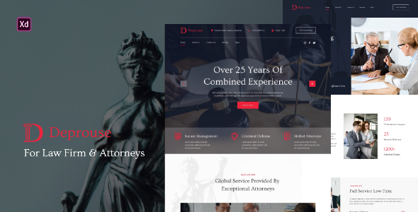 [Free Download] Deprouse – Lawfrim & Attorneys Website Template (Nulled) [Latest Version]