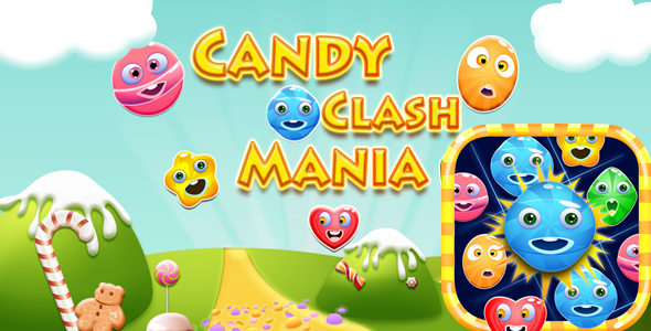 [Free Download] Candy Clash Mania (Nulled) [Latest Version]