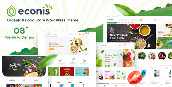 [Free Download] Econis – Organic & Food Store WordPress Theme (Nulled) [Latest Version]