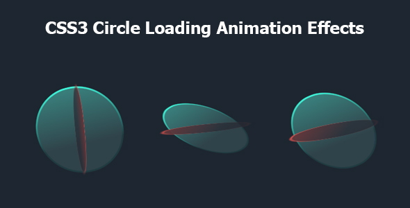 [Free Download] CSS3 Circle Loading Animation Effects (Nulled) [Latest Version]