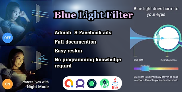 [Free Download] Advanced Blue light filter – eye care light app source code (Nulled) [Latest Version]