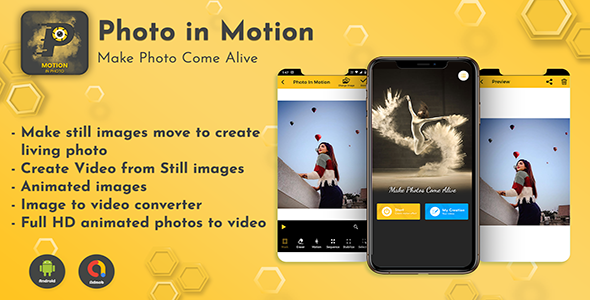 [Free Download] Android App Photo Editor – Pro Photo In Motion Editor (Nulled) [Latest Version]