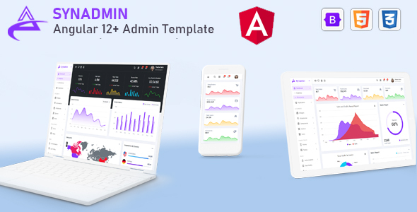 [Free Download] Synadmin – Angular 12+ Admin Template (Nulled) [Latest Version]