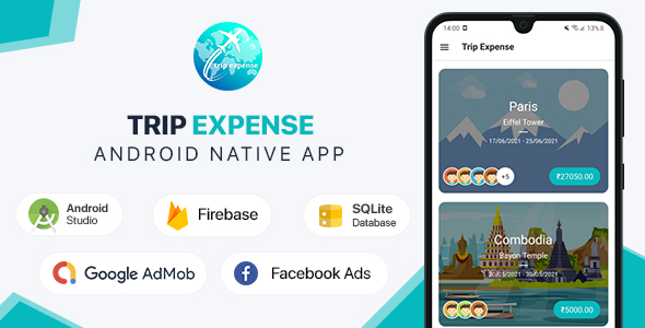 [Free Download] Trip Expense – Android App (Nulled) [Latest Version]