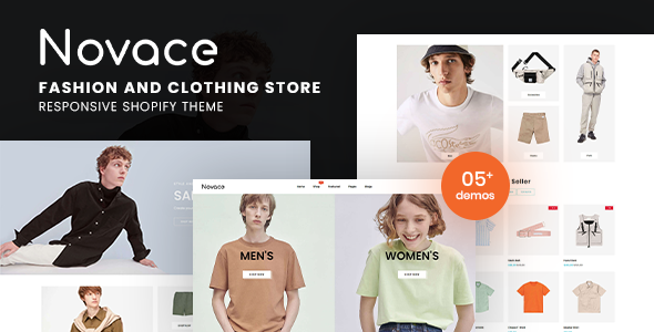 [Free Download] Novace – Fashion Store Responsive Shopify Theme (Nulled) [Latest Version]