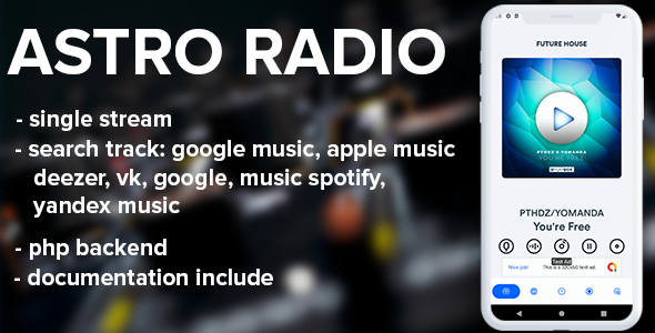 [Free Download] Astro live radio with php backend (Nulled) [Latest Version]