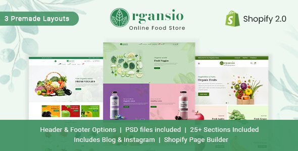 [Free Download] Organsio – Organic Responsive Shopify Theme (Nulled) [Latest Version]
