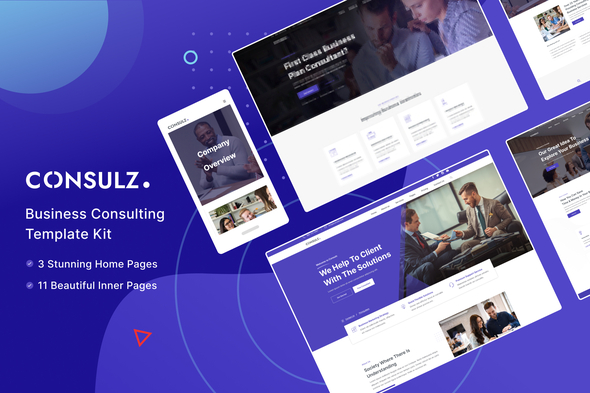 [Free Download] Consulz – Consulting Company Elementor Template Kit (Nulled) [Latest Version]