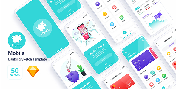 [Free Download] Hump – Mobile Banking Sketch Template (Nulled) [Latest Version]