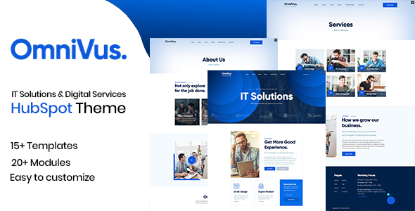 [Free Download] Omnivus – IT Solutions & Digital Services HubSpot Theme (Nulled) [Latest Version]
