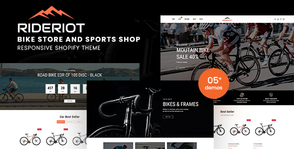 [Free Download] Rideriot – Bike Store Responsive Shopify Theme (Nulled) [Latest Version]