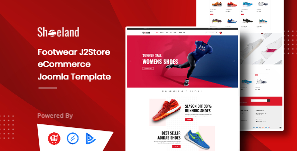 [Free Download] Shoe Land – Footwear J2Store Joomla Ecommerce Template (Nulled) [Latest Version]
