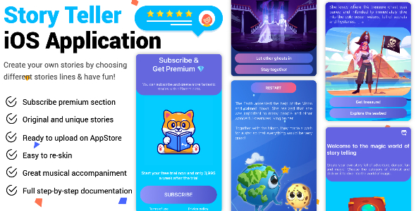 [Free Download] Story Teller iOS Application (Nulled) [Latest Version]