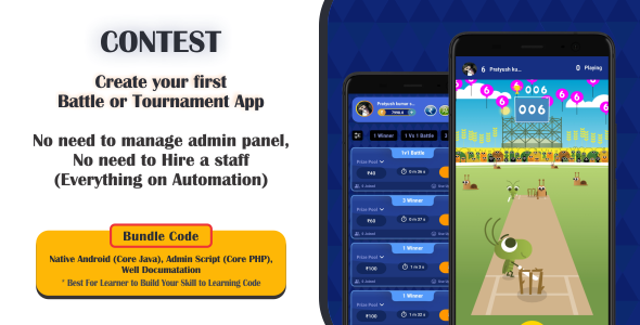 [Free Download] Cricket Contest | Create Your Own Cricket Tournament App (Nulled) [Latest Version]