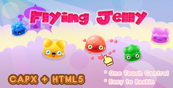 [Free Download] Flying Jelly – Construct 2 Html5 Game (Nulled) [Latest Version]