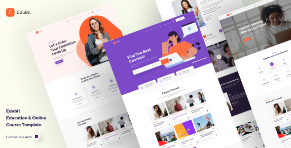 [Free Download] EduBit – Education & Online Course Adobe XD Template (Nulled) [Latest Version]