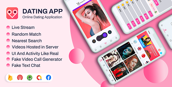[Free Download] DateMe- Dating App Pro| (Live Stream, Random Video Call, Match, Videos From Server, In-app Buy) (Nulled) [Latest Version]