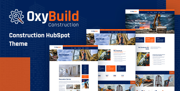 [Free Download] OxyBuild – Construction HubSpot Theme (Nulled) [Latest Version]