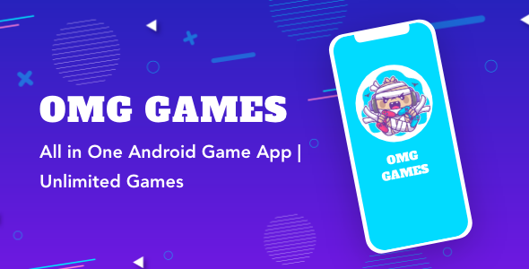 [Free Download] OMG Games – All in One Game App | AdMob | Unlimited Games | Android (Nulled) [Latest Version]