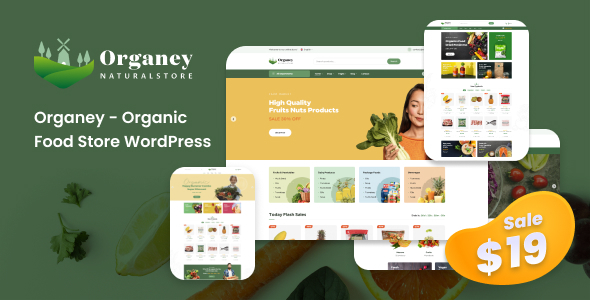 [Free Download] Organey – Organic Food WooCommerce WordPress Theme (Nulled) [Latest Version]