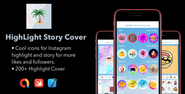 [Free Download] Highlight Story Cover For Instagram |. ADMOB Support | Swift CODE (Nulled) [Latest Version]