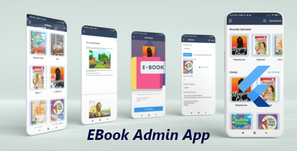 [Free Download] E-Book admin app Flutter  With Firebase Firestore (Nulled) [Latest Version]
