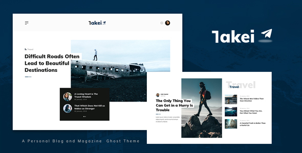 [Free Download] Takei – Blog and Magazine Ghost Theme (Nulled) [Latest Version]