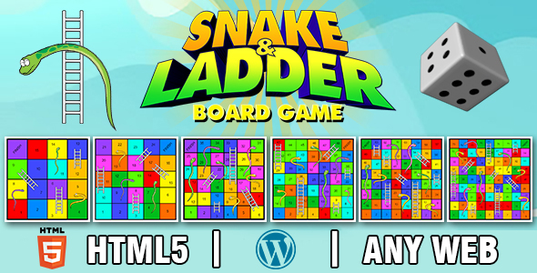 [Free Download] Snake and Ladder Board Game V2 (HTML5) Board Game (Nulled) [Latest Version]