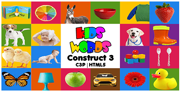 [Free Download] Kids Words Educational App (Construct3 | C3P | HTML5) Kids Learning Game (Nulled) [Latest Version]