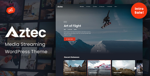 [Free Download] Aztec – Video Streaming & Membership Theme (Nulled) [Latest Version]