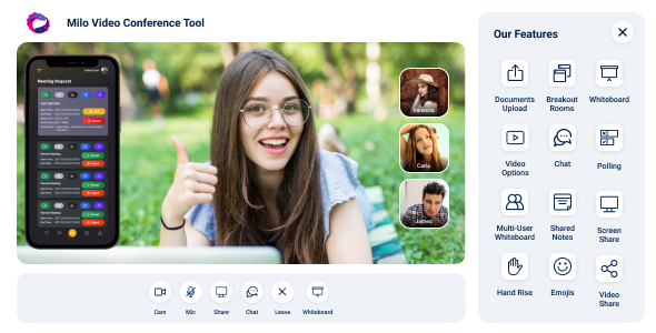 [Free Download] Milo – Video Conference (Web + iOS + Andriod) (Nulled) [Latest Version]