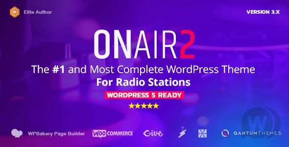 [Free Download] Onair2 v3. 3. 8-radio station template (Nulled) [Latest Version]