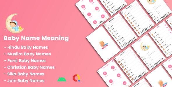 [Free Download] Baby Name With Meanings (Nulled) [Latest Version]