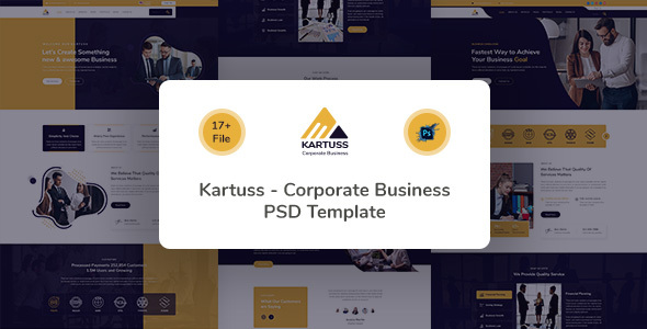[Free Download] Kartuss Corporate Business PSD Template (Nulled) [Latest Version]