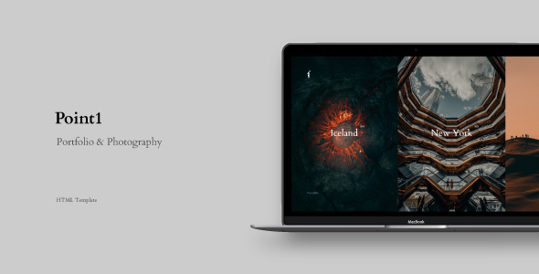 [Free Download] Point1 – Creative Portfolio & Photography Template (Nulled) [Latest Version]