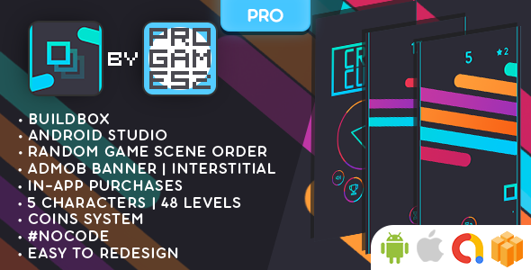 [Free Download] Crazy Cube (PRO) – BUILDBOX CLASSIC game – Android and iOs (Nulled) [Latest Version]